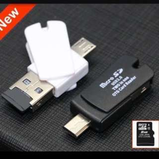 2 in 1 Micro SD OTG Card Reader****