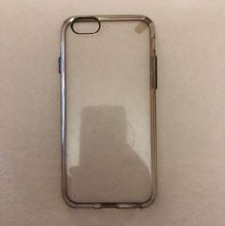 CLEAR HARD CASE IPHONE 6