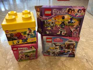 LEGO classic juniors Friends Disney Princess