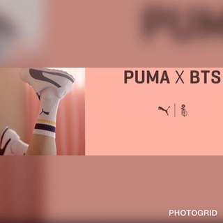PUMA X BTS TURIN SHOES