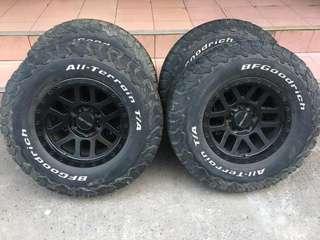 Rim + Tyre BF Ko2