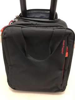 Used Hush Puppy roller laptop bag good condition