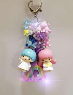 Sanrio Little Twin Stars Figurine Fob Charm