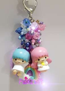 Sanrio Little Twin Stars Figurine Fob Charm