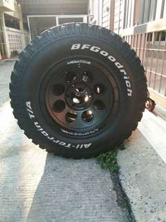 Sport Rim with tyre BFGoodRich KO2