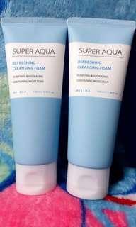 📌MISSHA SUPER AQUA REFRESHING CLEANSING FOAM 100ml