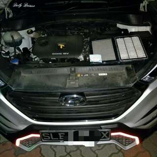 Hyundai Tucson Hurricane Filter
