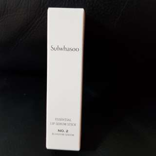 Brand new Sulwhasoo Essential Lip Serum Stick No. 2 Blossom Serum