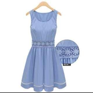 BN light blue dress