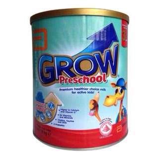 (NEW). abbott grow preschool milk powder.