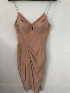 Zimmermann pink silk dress - size 2