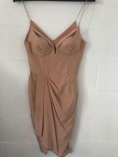 Zimmermann pink silk dress - size 2