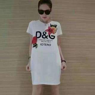 D&G Embroidered Dress
