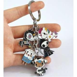TOKIDOKI Pendant Key Chain