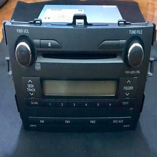 Slightly Used Toyota Altis 2 DIN Head Unit