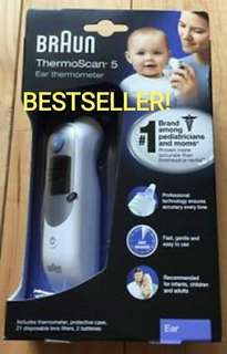 BRAUN Thermoscan Ear Thermometer IRT6500 (NEW STOCK, INSTOCK, IMMEDIATE COLLECTION)