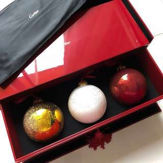 VIP Exclusive Cartier X'mas ball 卡地亞聖誕球