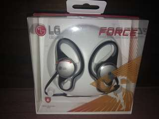 LG Force Premium Wireless Sport Headset