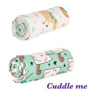 [[Raserved]] Tula Blanket Cuddle Me bundle - Over the Rainbow & Exclusive Caticorn