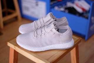 Sepatu Adidas Pure Boost DPR LTD INK Light Trace Khaki White