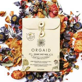 ORGAID Organic Face Mask Made in USA