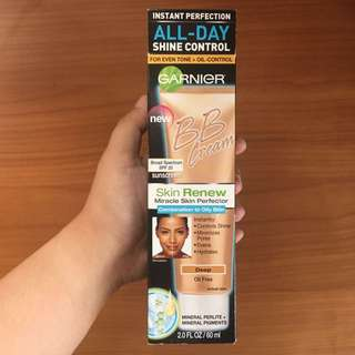 Garnier Skin Renew Miracle Skin Perfector BB Cream for Comination to Oily Skin (Deep)