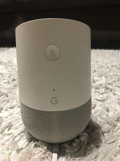 Google home in excellent condition for SALE!