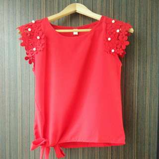 **2 for $19** BNWT Red Blouse