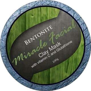 100g Bentonite clay mask