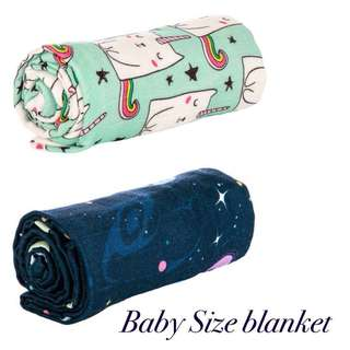 Tula Baby Blanket bundle - Exclusive Caticorn and Space Kiddet