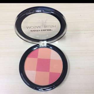 City colour mosaic blush
