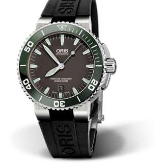 Oris Aquis 300m Divers Automatic Date Mens Watch