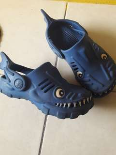 NextUk Clogs Blue Shark Boy