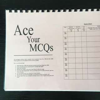 H2 Chemistry MCQ Booklet