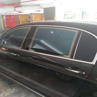 Bentley Customised Car Curtain - Made to measure in Sg