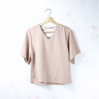 Sunny Top in LIGHT BROWN
