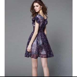 BN Chiffon Dress