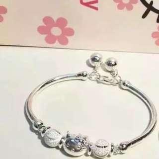 Hello Kitty Silver Bracelet Better Than Melody Samsonite Trolls Poppy Pooh Tsum Ez charm