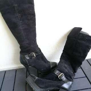 High cut boot