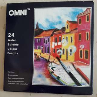 OMNI 24 Water Soluble Color Pencils