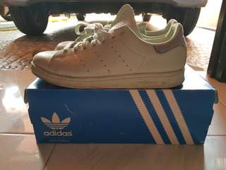 Adidas Stan Smith Linen Green Sz 40 2/3