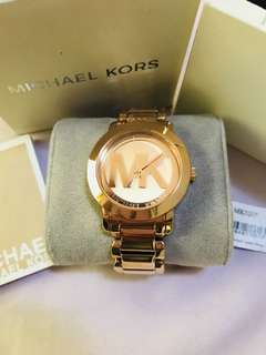 Authentic MK Rosegold Watch