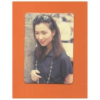 49-Q,YES CARD鄭秀文-SAMMI,背面曲詞-依依不拾