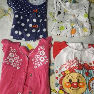 4 Set Girls Top
