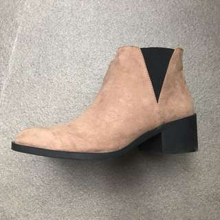 Chelsea boots ankle boot 短靴咖啡色