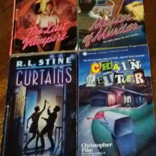Christopher Pike and R.L Stine