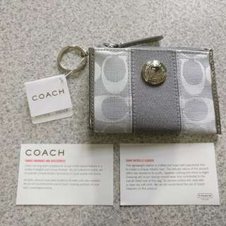 100%real 全新 Coach coins bag 零錢 鎖匙包 42255
