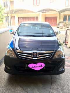 Innova V th 2009 manual bensin murah