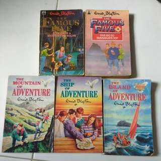 Enid Blyton Childrens Books