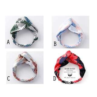 Korean Printed Headband